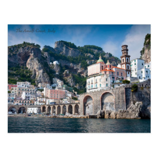 The Amalfi Coast from the Sea Postcard