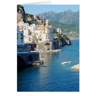 The Amalfi Vista Card
