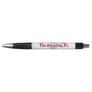 The Amazing A's click pen