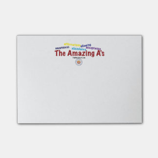 The Amazing A's sticky note Post-it® Notes