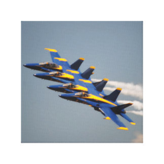 The Amazing Blue Angels Canvas Print