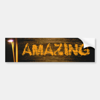 The Amazing Bumper Sticker