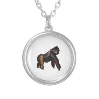 THE AMAZING ONE SILVER PLATED NECKLACE