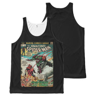 The Amazing Spider-Man Comic #122 All-Over Print Singlet
