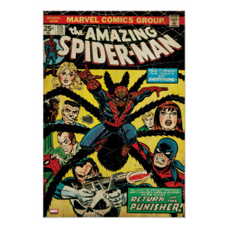 The Amazing Spider-Man Comic #135 Poster