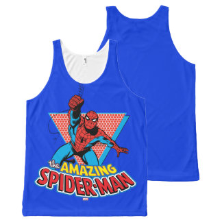 The Amazing Spider-Man Graphic All-Over Print Singlet