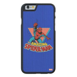 The Amazing Spider-Man Graphic Carved Maple iPhone 6 Case