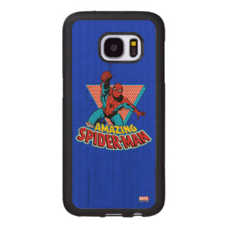 The Amazing Spider-Man Graphic Wood Samsung Galaxy S7 Case
