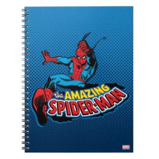 The Amazing Spider-Man Logo Notebooks