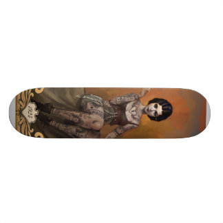 The Amazing Tattooed Lady Skate Board Deck
