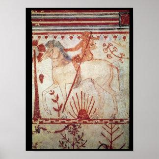 The Ambush of the Trojan Prince Troilus Poster
