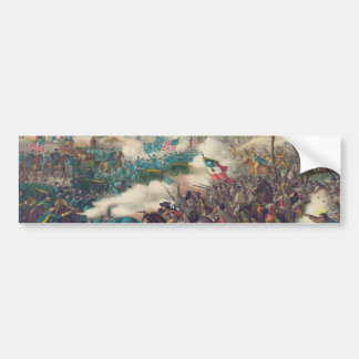 The American Civil War Battle of Pea Ridge 1862 Bumper Sticker