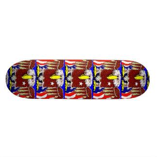 The American Eagle Flyer 18.1 Cm Old School Skateboard Deck