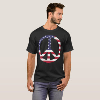 The American Flag as a Peace Symbol! T-Shirt