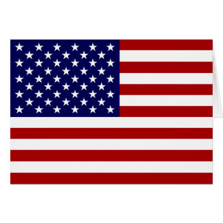 The American Flag Greeting Card