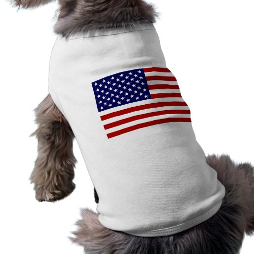 The American Flag Doggie T-shirt