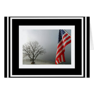 The American Flag is our Strength Greeting Card