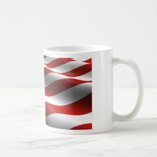 The American Flag of the USA Coffee Mugs
