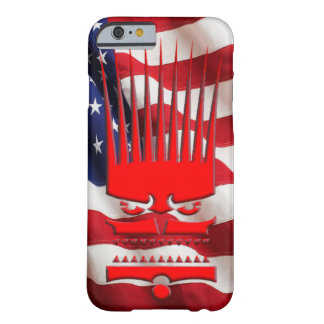The American Flag Savage Logo iPhone case. Barely There iPhone 6 Case