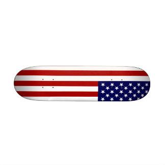 The American Flag Skate Deck