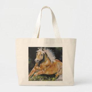 The American Mustang Large Tote Bag