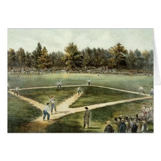 The American National Game of Baseball Card