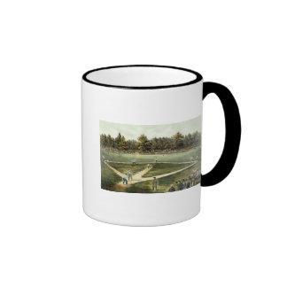 The American National Game of Baseball Coffee Mug