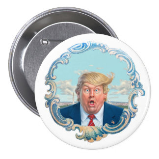 The American President 7.5 Cm Round Badge