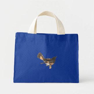 The American Redstart Muscicapa ruticilla Canvas Bag