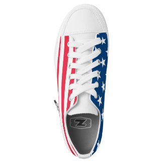 The American Spirit in Every Step Printed Shoes