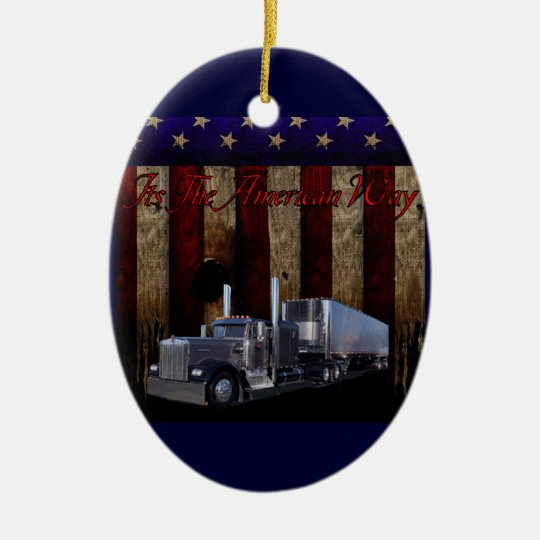 The american way ceramic ornament - Ornament tapete weiay ...