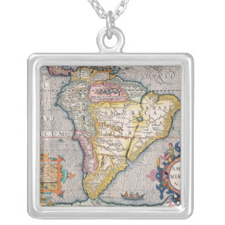 The Americas 5 Silver Plated Necklace
