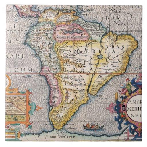 The Americas 5 Ceramic Tile