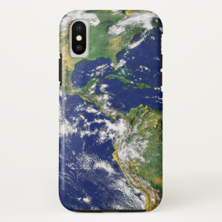 The Americas, As Seen From Space iPhone X Case