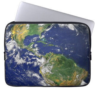 The Americas, As Seen From Space Laptop Sleeve