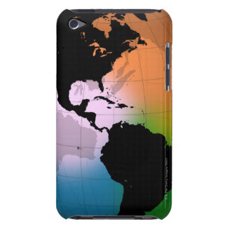The Americas Ocean Current Map Barely There iPod Case