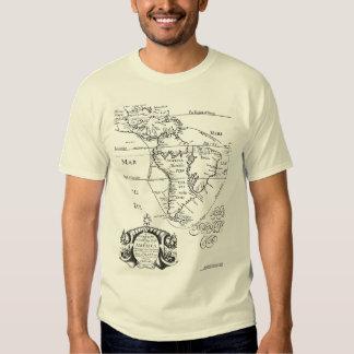 The America's Treasure Map Tee Shirt