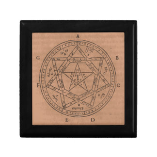 The Amulet of Venus and Mars Small Square Gift Box