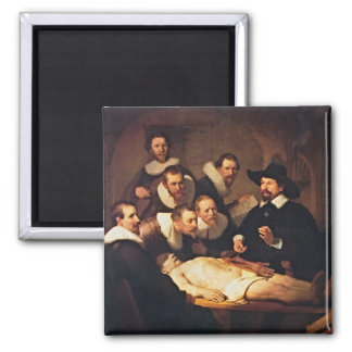 The Anatomy Lecture by Rembrandt Magnet