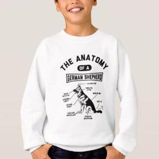 The Anatomy Of A German Shepherd Sweatshirt