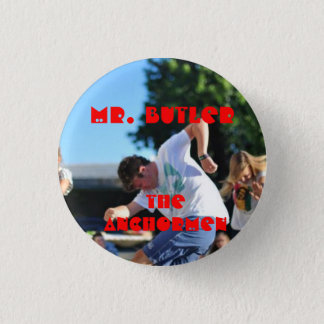 The Anchormen: Eric Butler 3 Cm Round Badge