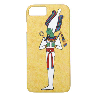The Ancient Egyptian God Osiris iPhone 8/7 Case