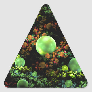 the_ancient_forest_by_complete_loser triangle sticker