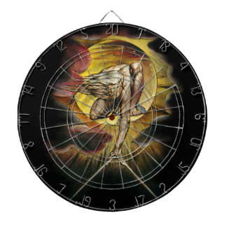 The Ancient Of Days Dart Board