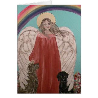 The Angel Bridge Card
