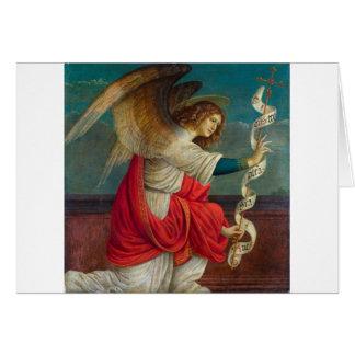 The Angel Gabriel - Gaudenzio Ferrari Card