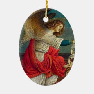The Angel Gabriel - Gaudenzio Ferrari Ceramic Ornament