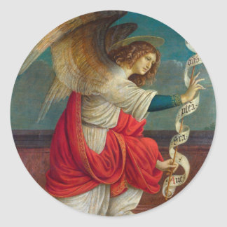 The Angel Gabriel - Gaudenzio Ferrari Classic Round Sticker