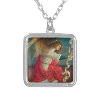 The Angel Gabriel - Gaudenzio Ferrari Silver Plated Necklace