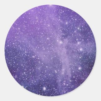 The Angel Nebula Classic Round Sticker